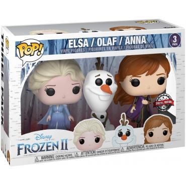 Funko Pop! Frozen 2: Elsa / Olaf / Anna -