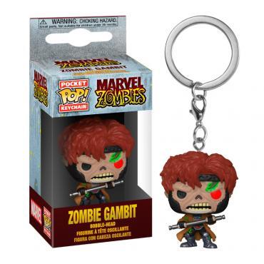 Marvel: Funko Pop! Keychain - Zombies - Gambit -