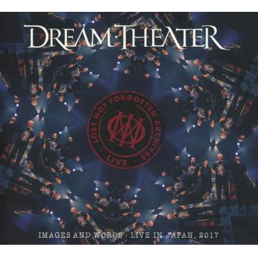 Lost Not Forgotten Archives: Images and Words - Live in Japan, 2017 (Ltd CD Digipak) - Dream Theater