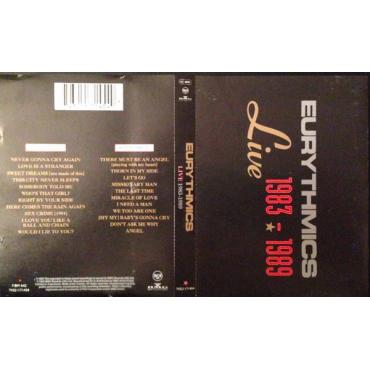 Live 1983 - 1989 - Eurythmics
