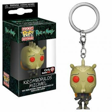 Rick And Morty: Funko Pop! Keychain - Krombopulos Michael (Ltd) -