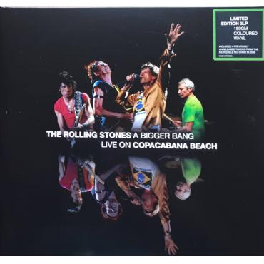 A Bigger Bang Live On Copacabana Beach - The Rolling Stones