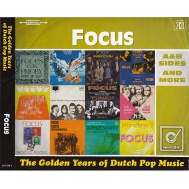 The Golden Years Of Dutch Pop Music (A&B Sides And More) - Focus