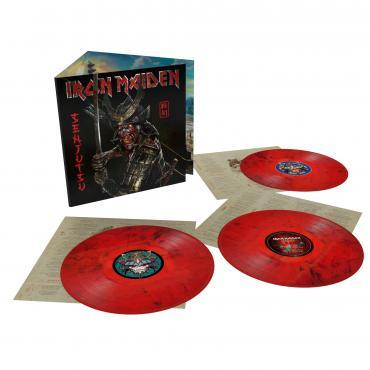 SENJUTSU  -3 LP LTD RED - Iron Maiden