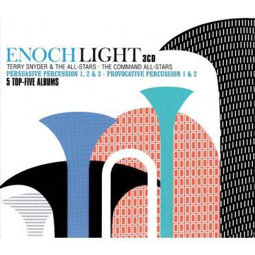 Persuasive Percussion 1, 2 & 3 - Provocative Percussion 1 & 2 - Enoch Light