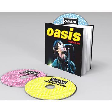 KNEBWORTH 1996            -HARD BACK BOOK- - OASIS