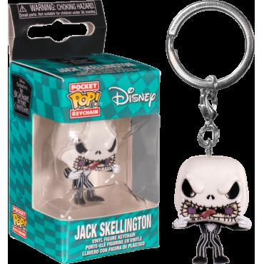 Nightmare Before Christmas: Funko Pop Keychain - Jack (Scary Face) -