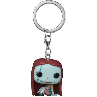 Nightmare Before Christmas: Funko Pop Keychain - Sally Sewing -
