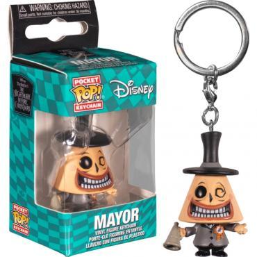 Nightmare Before Christmas: Funko Pop! Keychain - The Mayor -