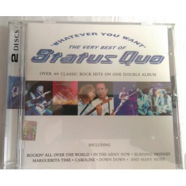 Whatever You Want (The Very Best Of Status Quo) - Status Quo